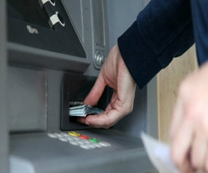 50 ATMs in the district without guard seal