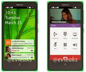 Nokia's first Android smartphone new leaked photos