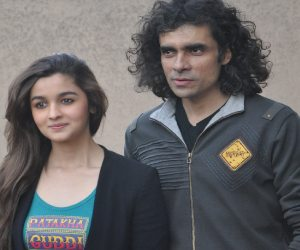 director Imtiaz and Aliya came chandigarh for promote of movie 'Highway'