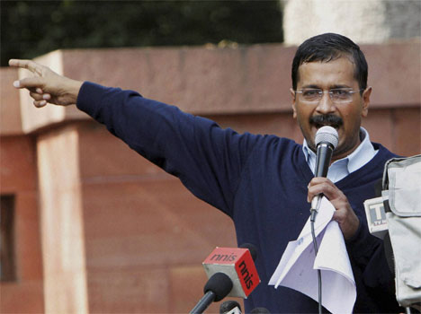 arvind kejriwal announces to finish dharna against delhi police