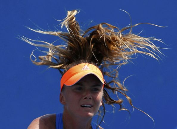 hair style of tennis players at australian open