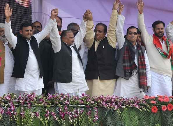 mulayam rally in varanasi