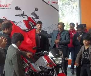 new show room of hero corporation in lucknow