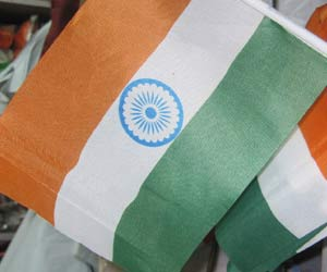 tricolour flags now made in china