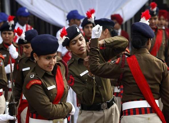 Republic Day :  Full dress rehearsal at chandigarh