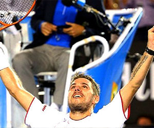 wawrinka won first grand slam defeating rafael nadal