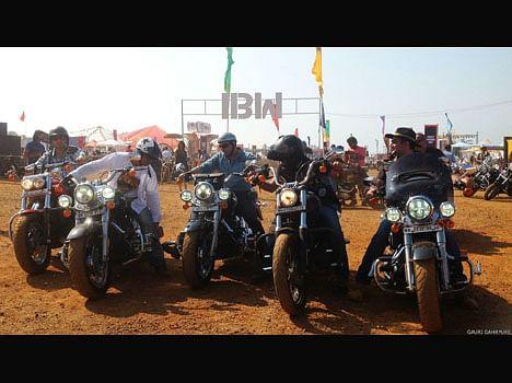 goa india bike week