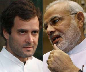 congress afraid of modi and vishwas