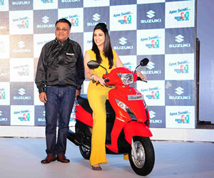 Suzuki Let's unveiled in India