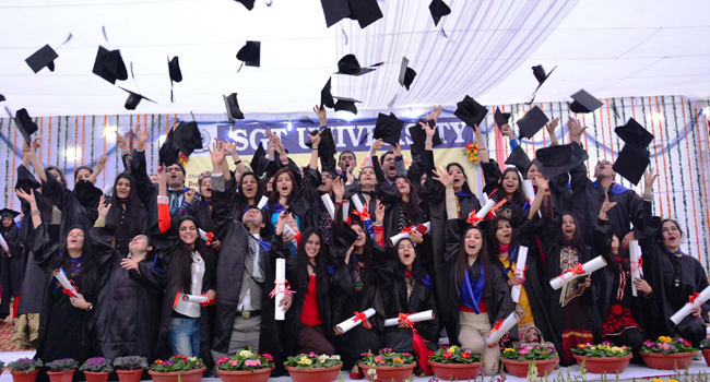 sgt university convocation
