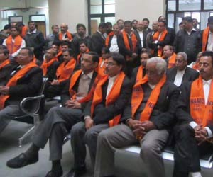 namo tea party at delhi high court