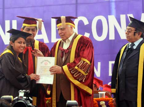 zakir husain college convocation
