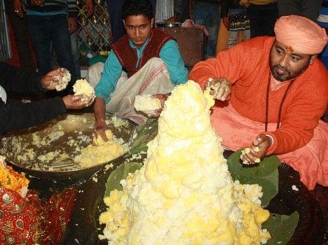 Image result for मक्खन का शिवलिंग