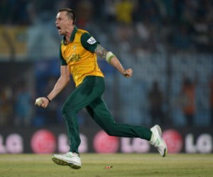 Dale Steyn has tention about hill fire behind his home