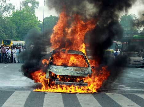Fire Incidents increases in Delhi NCR