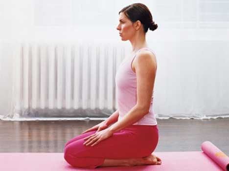 Image result for Vajrasana Yoga