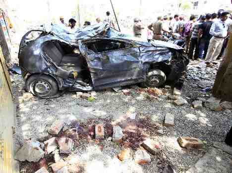 Creepy and fatal accident in punjab