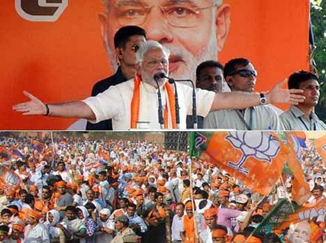 bjp struggles in varanasi for the permission of modi rally