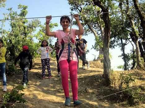 advanture camp in cca school of gurgaon
