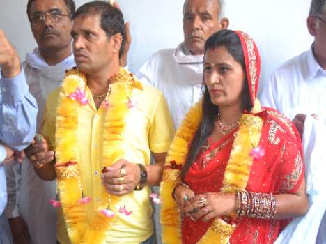 Unique wedding of gangster