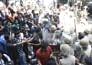 एचपीयू में लाठीचार्ज, 300 छात्र गिरफ्तार