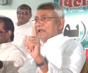 Nitish kumar started election campaign in bihar