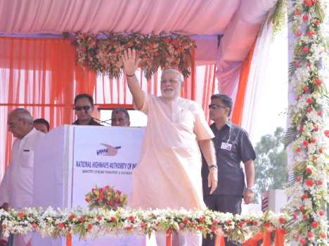 Prime Minister Narendra Modi in kaithal