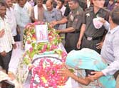 last rites of martyr gaya prasad in up