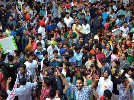 punjab university, Students politics and election