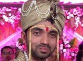 must see, ajinkya rahane s marriage pics.