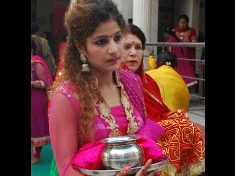 Karva chauth special photo.