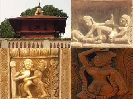 sexy image in temple khajuraho