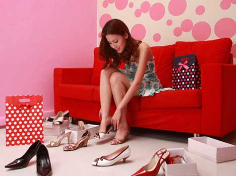 tips to prevent pain from wearing high heels