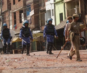 Trilokpuri curfew may rollback post moharram.