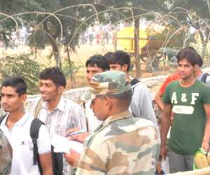 3500 reached in army rally at nagrota
