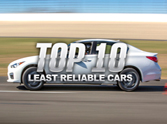 Top 10 Least Reliable Cars of 2014