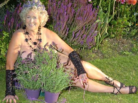 74 aged calendar girl