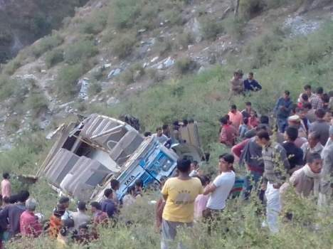Chamba bus accident: Death toll rises to 16