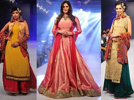zarine khan performed blenders pride punjab international fashion week 2014