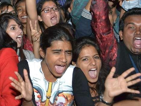Singer Benny Dayal Musical Night in Chandigarh PEC University, Live Pics