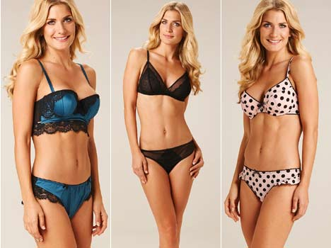 Britney Spears to Kelly Brook, it seems every female celebrity has a lingerie range