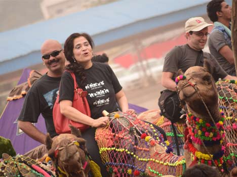 Colours, culture and camels come together at Pushkar Fair 2014.