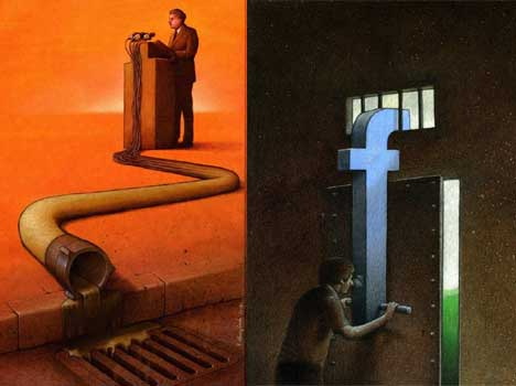 satirical photos that say many things