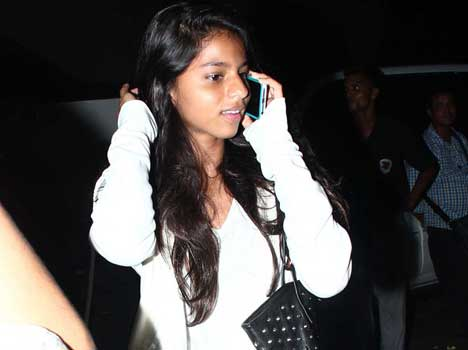 shahrukh khan daughter in films