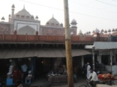 encroachment weakening to jama masjid of agra.