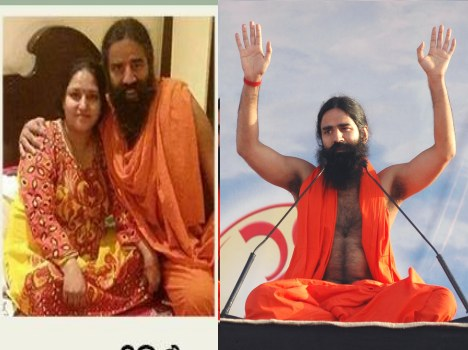 ramdev says about his facebook viral pic.