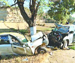 Two killed in road accidents , two injured