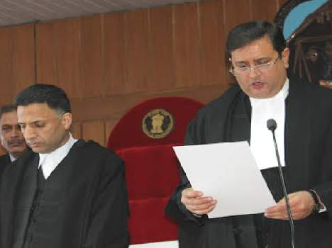 HP received three new judges to the court