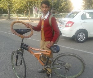 new innovation of young boy at mohali