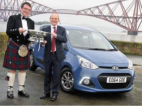 Hyundai i10 (Grand i10) Won the 2014 Scottish Car of the Year!